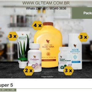 KIT SUPER 5 - Saúde e Higiêne